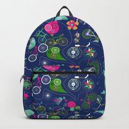 Cycledelic Blue Backpack