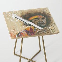 Jimi Hendrix Side Table