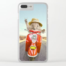 VITO VIAGGI Clear iPhone Case
