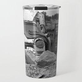 Old Abandoned Car Travel Mug