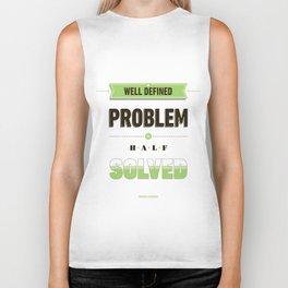 Well defined problem Biker Tank