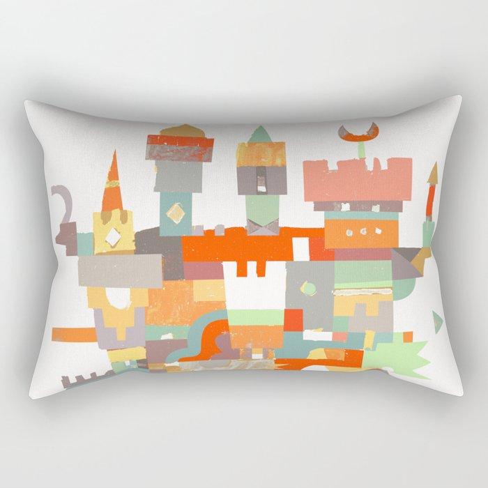 Structura 8 Rectangular Pillow