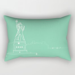 New York by Friztin Rectangular Pillow