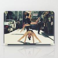 musa iPad Cases featuring Dancing Duo by Musa Do Verao - Camilla Warburton