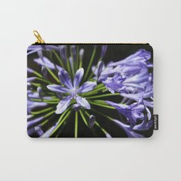 Purple Perennials Carry-All Pouch