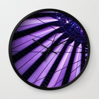 surrealism Wall Clocks featuring City Surrealism by Notions