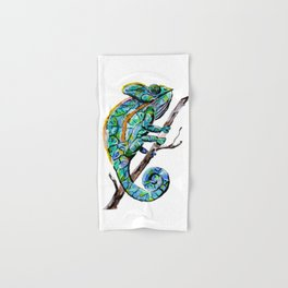 Magic Chameleon Hand & Bath Towel