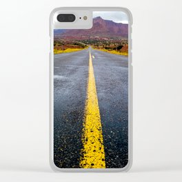 Road into the Wilderness Clear iPhone Case