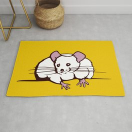 Fat mouse Rug