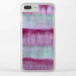 Watermelon Tourmaline Clear iPhone Case
