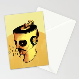 Record Player - ANALOG zine Stationery Cards