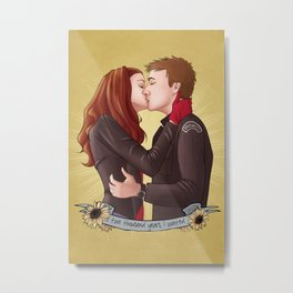 Doctor Who - Two Thousand Years In The Making Metal Print