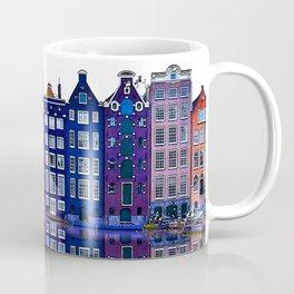 Amsterdam Canal Houses Netherlands Coffee Mug