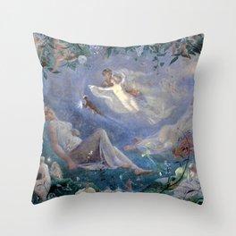 A Midsummer Night's Dream - John Simmons Throw Pillow