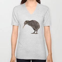 Kiwi Bird Unisex V-Neck