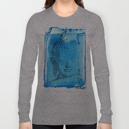 Buddha Blue Long Sleeve T-shirt