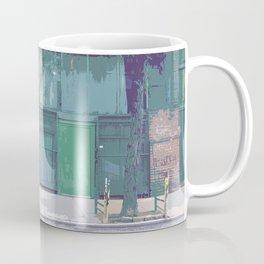 Bleeker St, New York Streetscape Coffee Mug