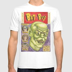 Bat Boy: The Musical! MEDIUM Mens Fitted Tee White