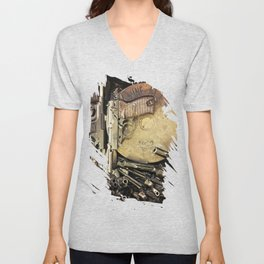 An art of Peacemaking Unisex V-Neck