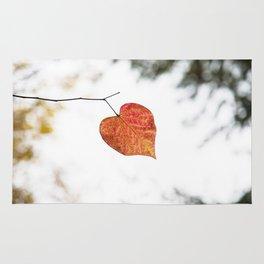 Heart leaf Rug