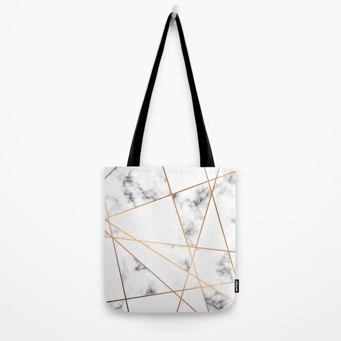 Marble Geometry 054 Tote Bag