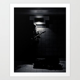Subway Music Lawrence West Station Toronto Canada Art Print