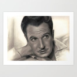 Young Vincent Price Art Print