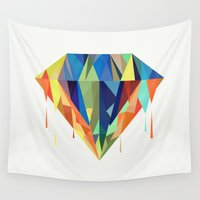 diamond Wall Tapestries featuring Diamond by By Nordic