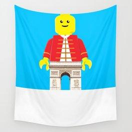 Arc De Triomphe Lego Wall Tapestry