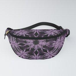 Mandala purple and black Fanny Pack