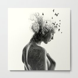 Nature Girl Metal Print