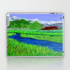 Grand-Teton barn Laptop & iPad Skin