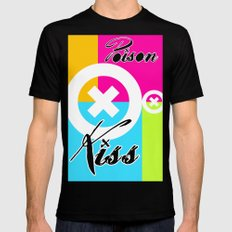 POISON KISS - COLORS EDITION Black MEDIUM Mens Fitted Tee