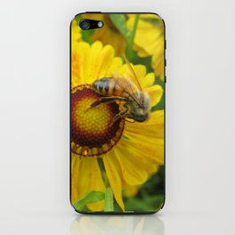 Gold and Bee iPhone Skin
