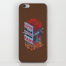 Love without Action Is Fantasy iPhone & iPod Skin