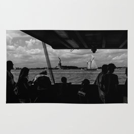 Ferry, Liberty & Silhouettes Rug