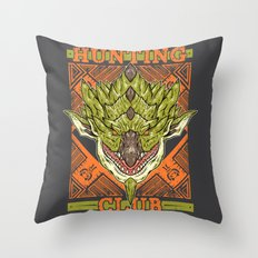 Hunting Club: Rathian Throw Pillow