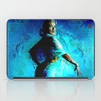 kandinsky iPad Cases featuring Static Blonde by Mark Compton
