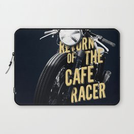 Return of the cafe racer Laptop Sleeve