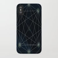 sacred geometry iPhone & iPod Cases featuring Geometry Sacred by BlueGardenia36