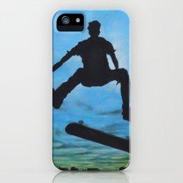 Skate or Die iPhone Case