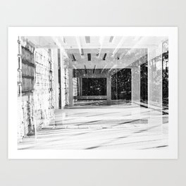 tunnels Art Print