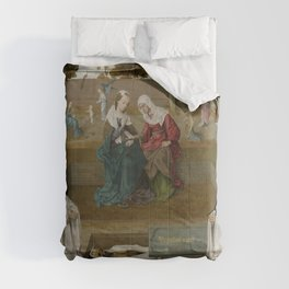 Master of the Spes Nostra - Memorial tablet Comforters