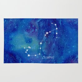 Constellation Scorpius Rug