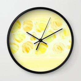 Cry Onions Smell Garlic Wall Clock