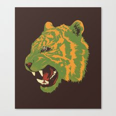 Eye Of The Tiger Canvas Print