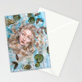 Ophelia Amphibian Stationery Cards