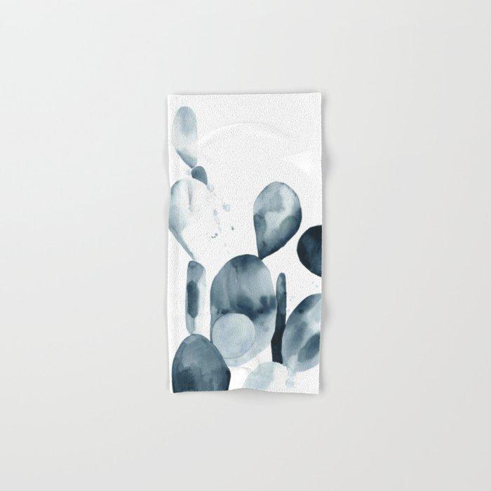 Indigo Paddle Cactus Hand & Bath Towel