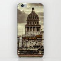 cuba iPhone & iPod Skins featuring CUBA - CAPITOLIO by mayavisual