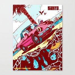 Siesta Beach 3 Canvas Print